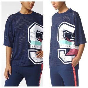 Adidas Stella McCartney Stella Sport Mesh Tee M